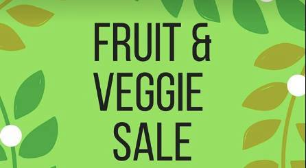July 12 Fruit & Veggie Sale @ Belmead