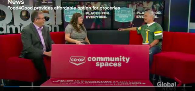 """""""Food4Good Provides Affordable Option for Groceries"""" – Global Edmonton"""