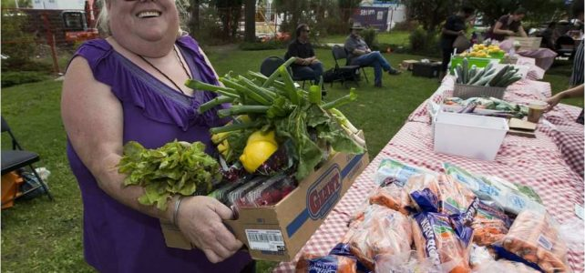 """""""Food Hub Secures Storefront Location"""" – Elise Stolte, Edmonton Journal"""