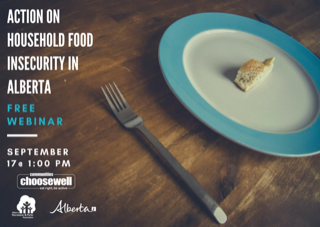 """Action on Household Food Insecurity in Alberta"" Webinar"